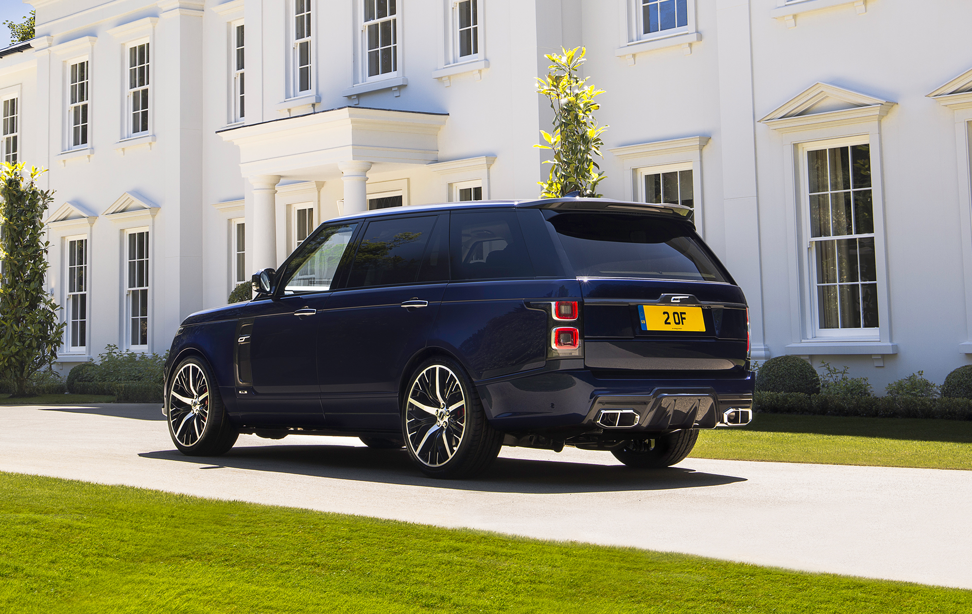 Overfinch The Ultimate Expression Of The Range Rover Icon