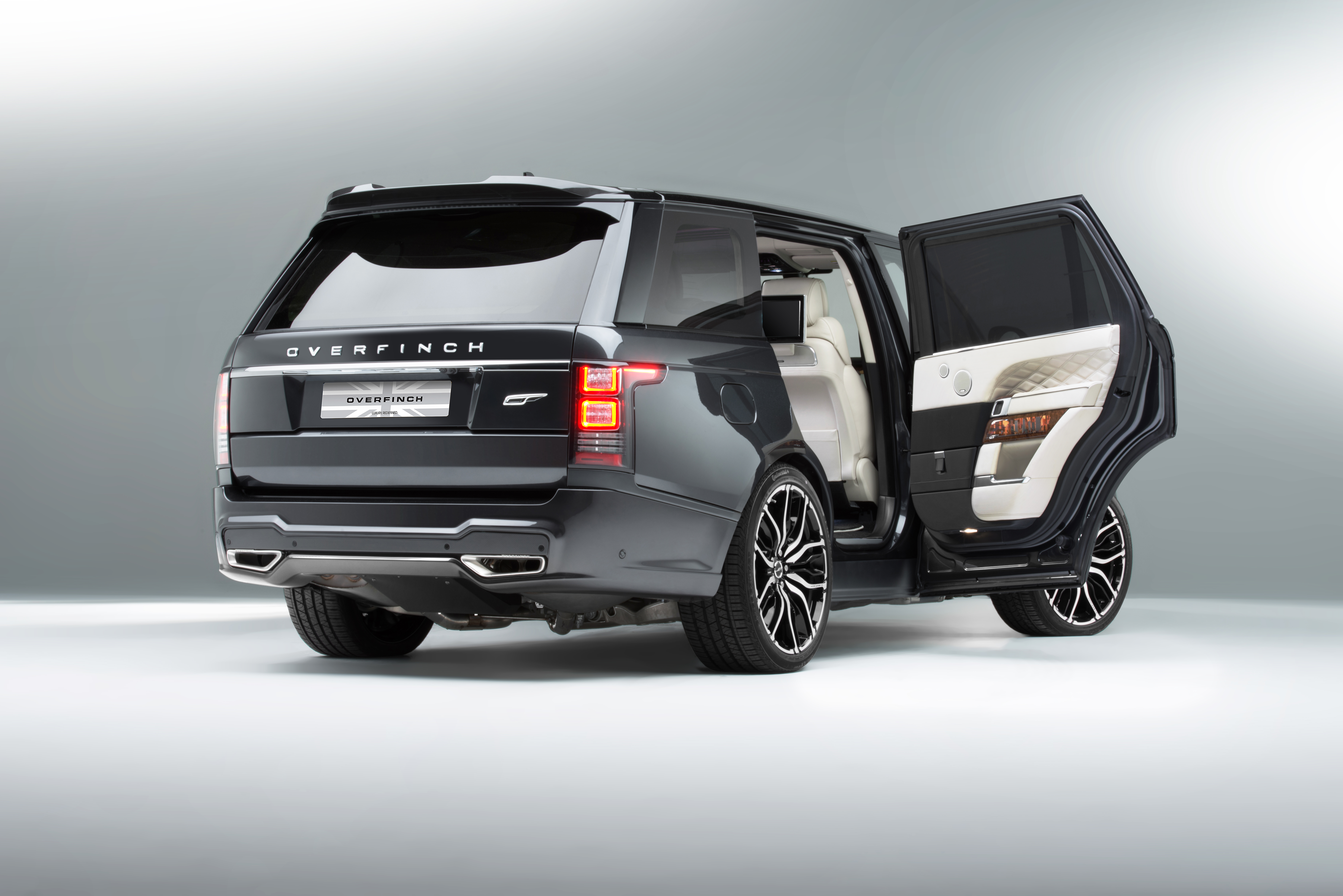 Range Rover modified by Overfinch