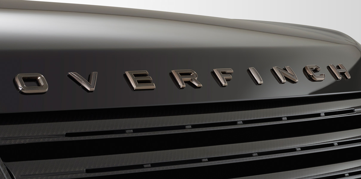Overfinch Lettering