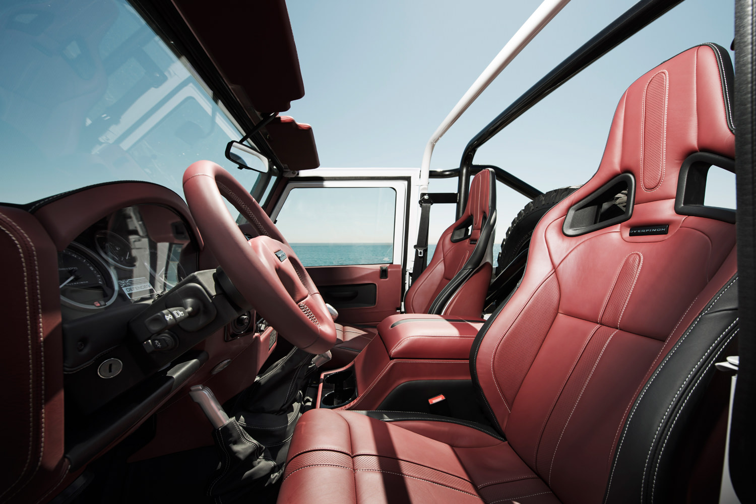 Overfinch Defender Interior