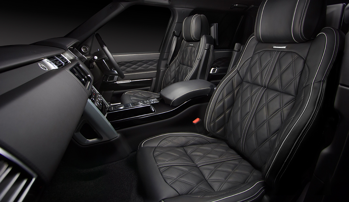 Range Rover Modified By Overfinch Interior