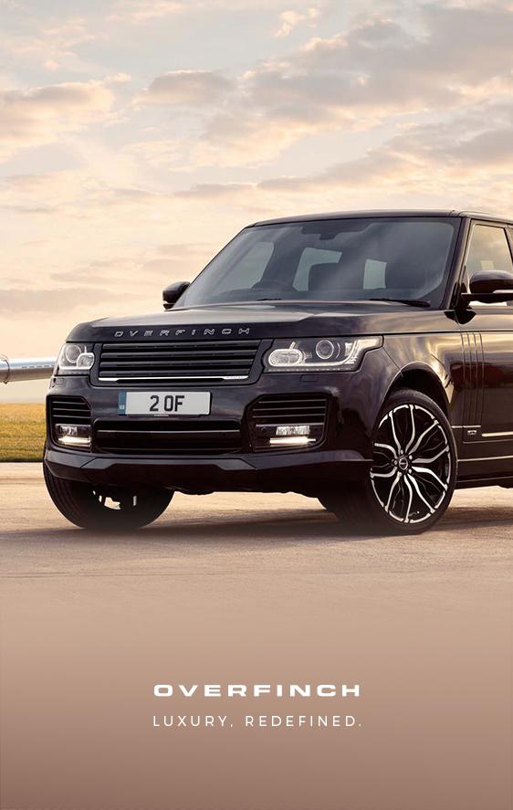 Range Rover - Luxury Redefined