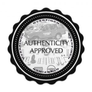 Overfinch authenticity check