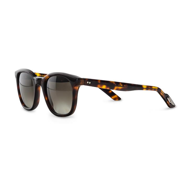 Front view of Overfinch Kirk Originals Sunglasses in tortoiseshell